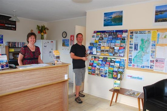 Ashburton, Yeni Zelanda: ASURE Adcroft Motel Reception
