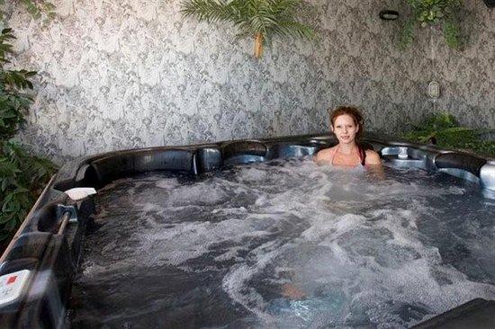 Ashburton, Yeni Zelanda: ASURE Adrcoft Motel Spa Pool