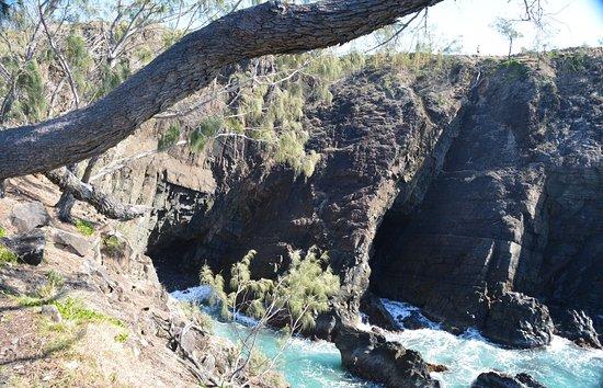 Noosa, Australië: cliff