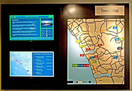 Vista, كاليفورنيا: TowneMap