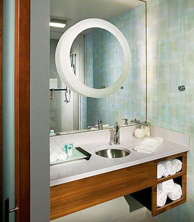 Ridley Park, Пенсильвания: Guest Bathroom Vanity