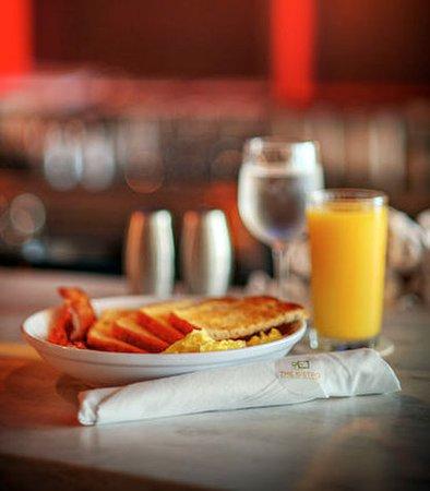 Alexandria, Luizjana: The Bistro - Breakfast