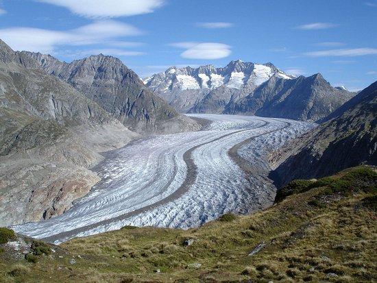 Fieschertal, Suíça: Glacier Aletsch