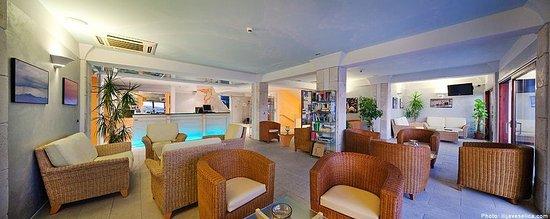 Hotel Podstine: Reception