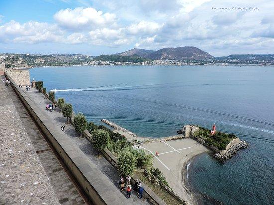 Baia, Itália: vista dalla terrazza