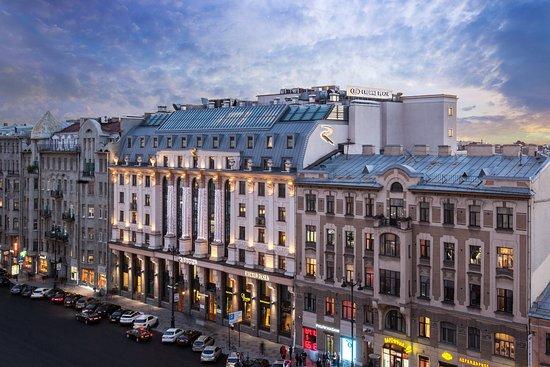 Crowne Plaza St. Petersburg - Ligovsky: Hotel facade