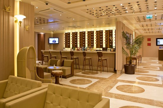 Crowne Plaza St. Petersburg - Ligovsky: Hotel Lobby Lounge