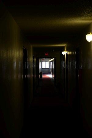 Fond du Lac, Висконсин: Hotel corridor