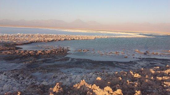 Laguna Tebinquinche: lagoa e salar