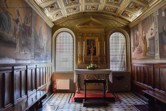 Casa di Santa Caterina: oratorio della camera