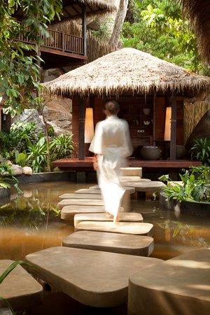 Anantara Rasananda Koh Phangan Villas: Entrance To Anantara Spa Manicure Pedicure Sala