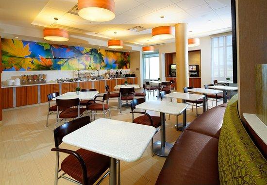 Latrobe, Pensylwania: Breakfast Area