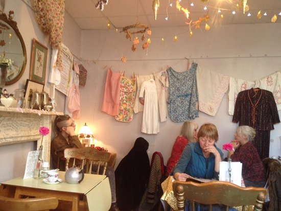 ReLoved Tea Rooms: fun, quirky, imaginative decor - great creative team at Reloved
