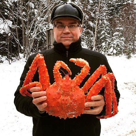Far Eastern District, Russia: Местные крабы! Рядом с Охотским морем