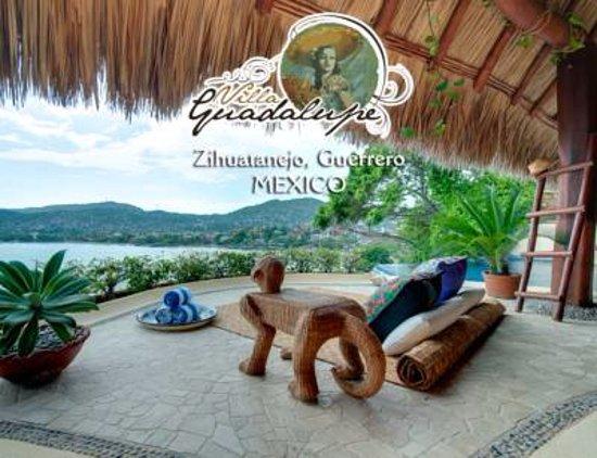 Villa Guadalupe Hotel: Terraza para tomar el sol