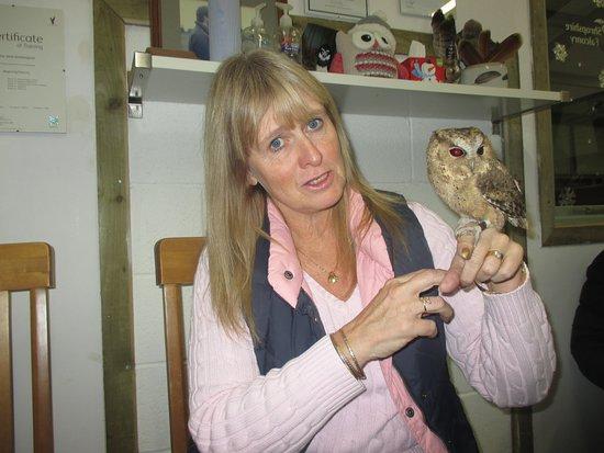 Wem, UK: What a face!! Me, not lovely Tikka!