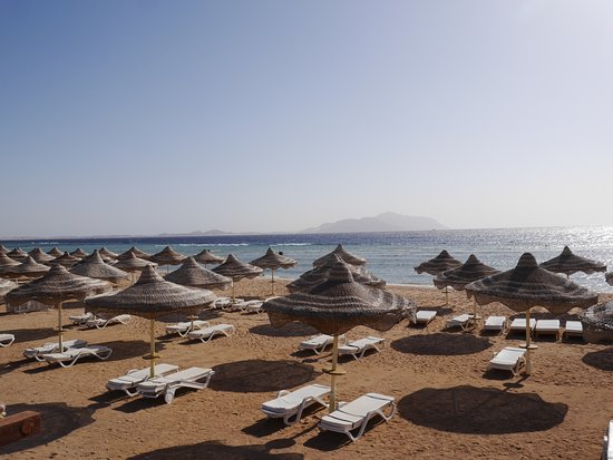 Baron Resort Sharm El Sheikh: Вид на Тиран