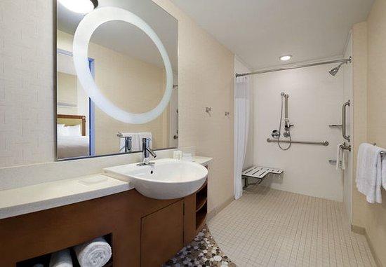 Ridgeland, MS: Accessible Suite Bathroom