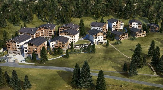 Lenzerheide, Sveits: summer exterior view