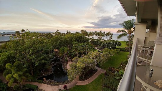 Fairmont Orchid, Hawaii: Partial ocean view