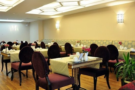 Neorion Otel: Breakfast room