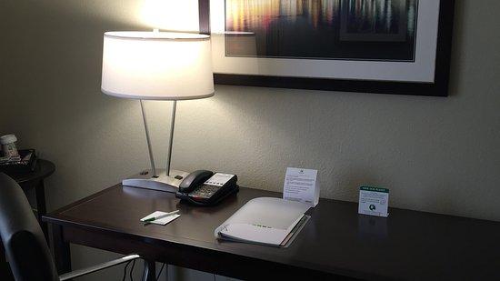 Middletown, Pensilvania: Work Space in Guest Room