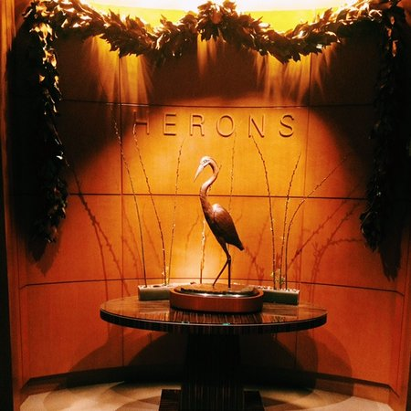 Cary, NC: Herons Restaurant