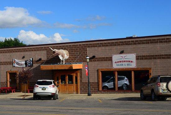 Sundance, Ουαϊόμινγκ: Longhorn Saloon & Grill exterior