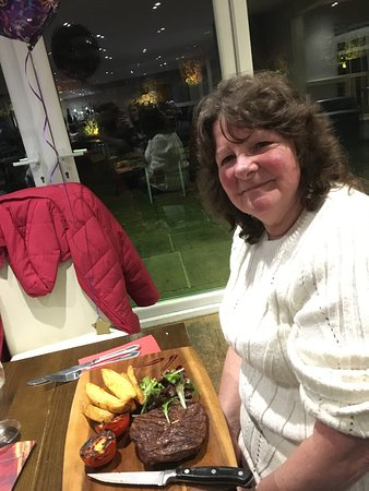 Thirsk, UK: Lovely birthday night at the watermill