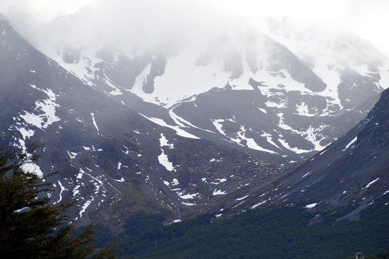 Fueguino Hotel Patagonico : Vista da janela do hotel Fueguino