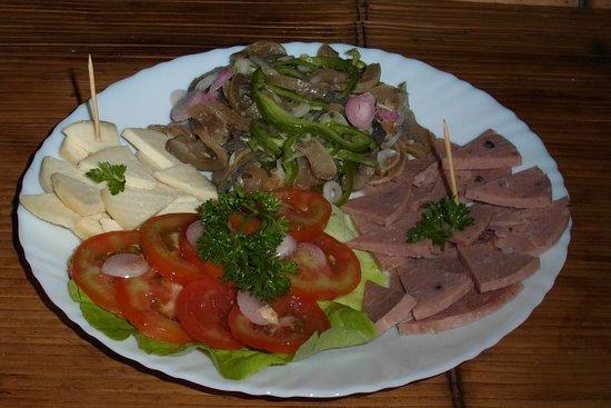 Fianarantsoa, Madagascar: Salade de Fianara