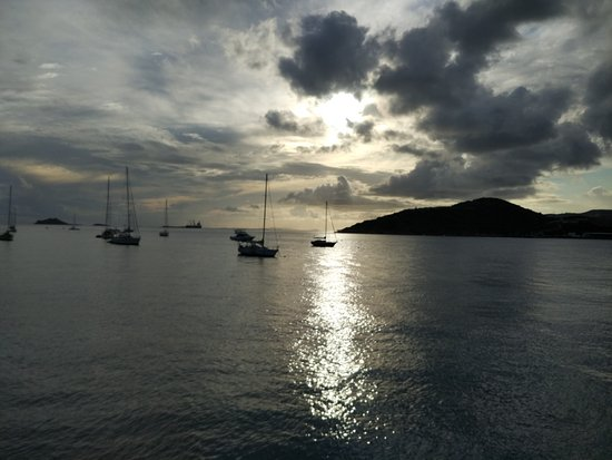 Water Island, St. Thomas: On the boat