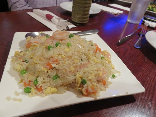 Somerset, Nueva Jersey: Fried Rice with Shrimp