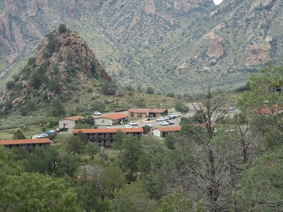 Alpine, Техас: Big bend the motel in the park - magnificent wilderness