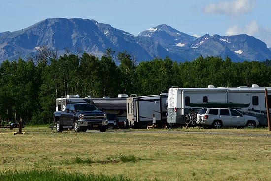 Saint Mary, MT: RV Sites