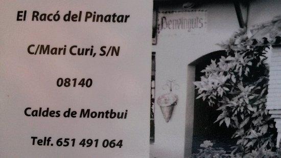 Кальдас-де-Монтбуи, Испания: Tarjeta