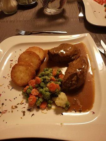 Hotel Sonne: Stufato di carne con patate e verdure