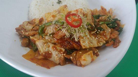 Lami, Figi: dakgalbi - spicy & tasty