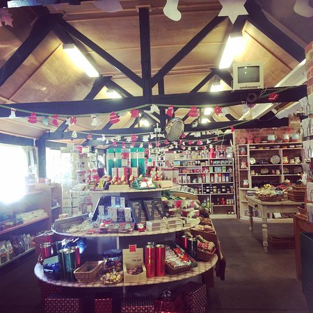 Wimborne, UK: Pamphill Dairy Farm Shop & Restaurant