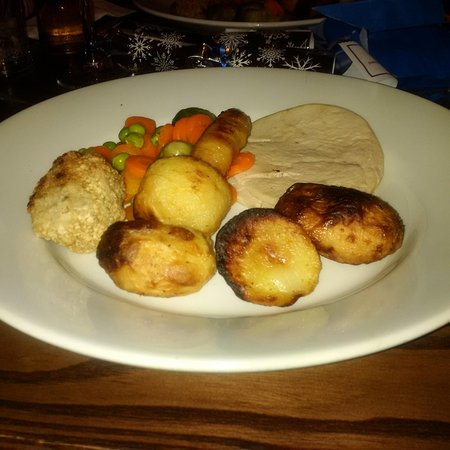 Cwmbran, UK: Xmas dinner at the 3 blackbirds