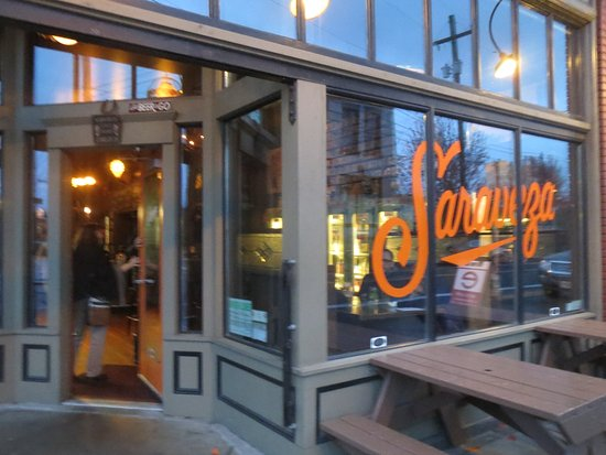 Photo of American Restaurant Saraveza Bottle Shop and Pasty Tavern at 1004 N Killingsworth St, Portland, OR 97217, United States