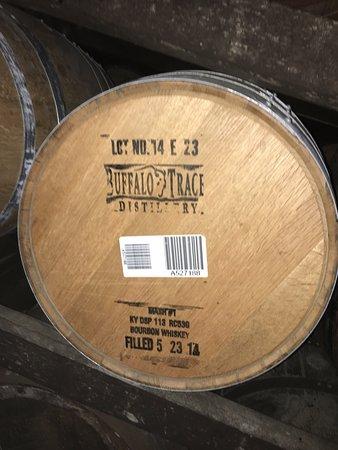 Frankfort, Kentucky: stamped barrel 