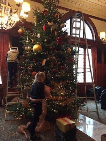 Benson Hotel : Christimas Tree