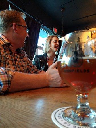 Hopfields: beer with friends