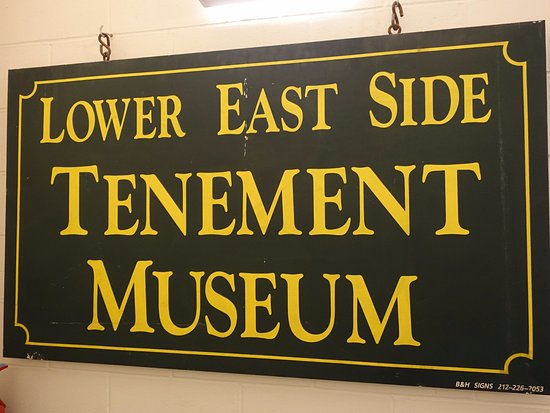 Tenement Museum : Visita muy interesante
