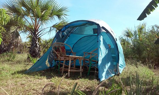 Camping Tent With Shared Bathroom Picture Of Bahati Diani House - Camping bathroom tent