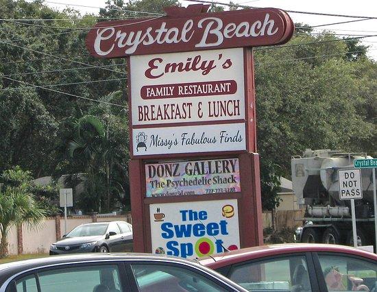 Palm Harbor, FL: Main sign