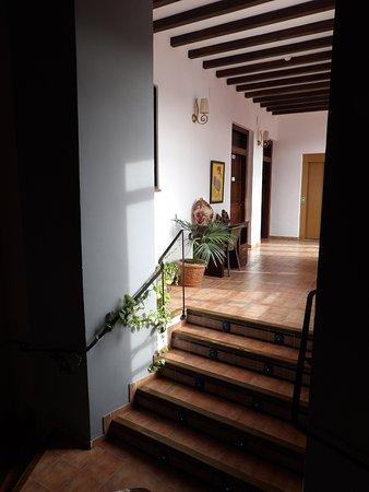 Alcaudete, Spania: pasillos del hostal