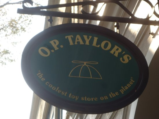 Brevard, NC: O. P. Taylors toy store