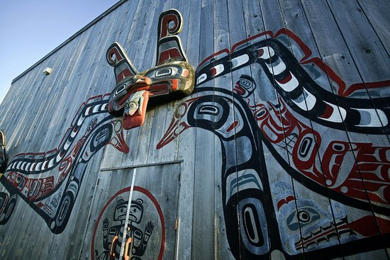 Port Hardy, แคนาดา: Fort Rupert Kwakiutl Big House